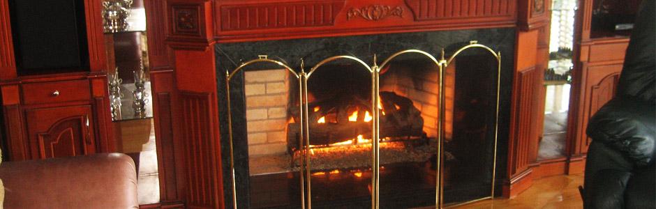 Chimeneas en bogota for Lenos a gas modernos
